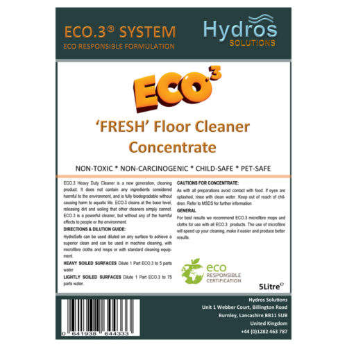 Floor Cleaner Super Concentrate 5L | Eco3 Premier Club