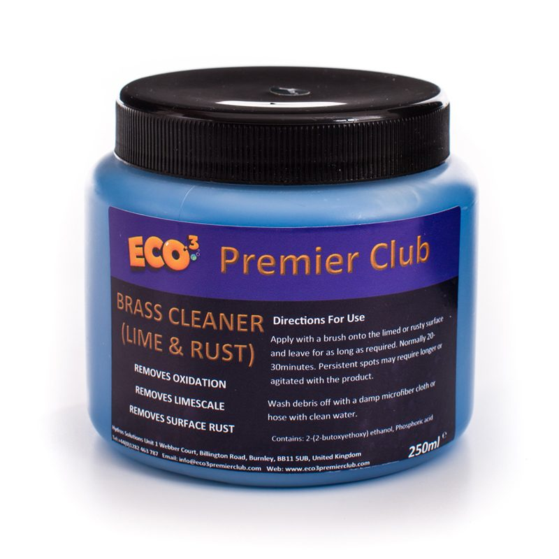 Brass Cleaner 250ml | Eco3 Premier Club - Eco-Responsible Cleaning Products