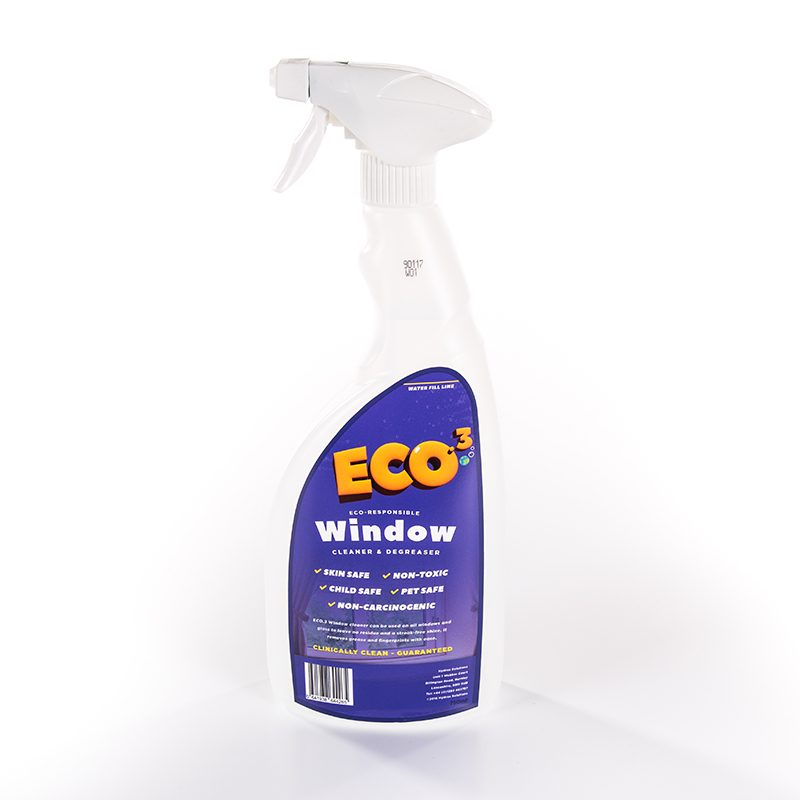 Eco3WindowCleanerBottle