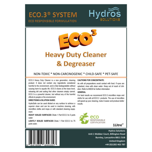 Heavy Duty Cleaner with Trigger 1L | Eco3 Premier Club - Eco-Responsible Cleaning Products