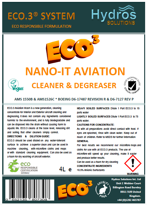ECO.3 Aviation Cleaner